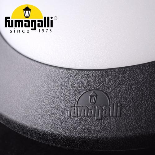 Bulkhead Fumagalli Berta Black Opal E27 Gc De Galerie