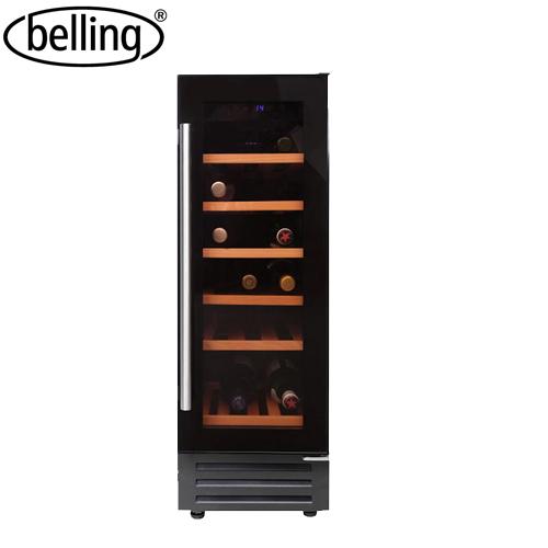 Wine Chiller Belling Black 18 Bottles Gc De Galerie