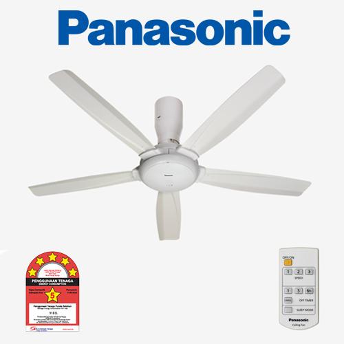 Ceiling Fan Panasonic Bayu 5 White 56 Quot Gc De Galerie