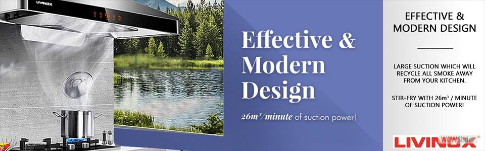 Effective & Modern Design