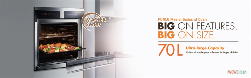 MASTER SERIES OVEN