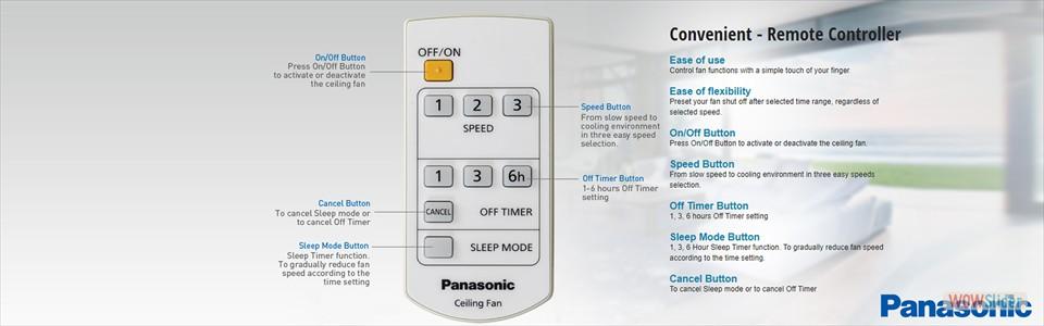 Convenient - Remote Control