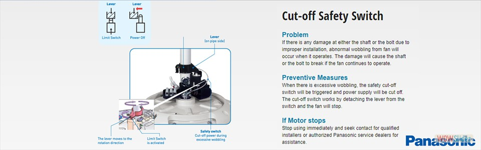 Cut-off Safety Switch