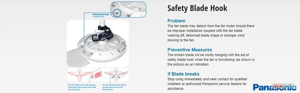 Safety Blade Hook