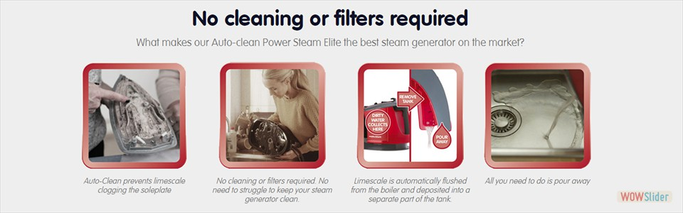 Auto-Clean Power Steam Elite